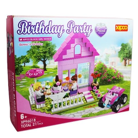 ����������� Xipoo blocks ��� �������, Birthday party