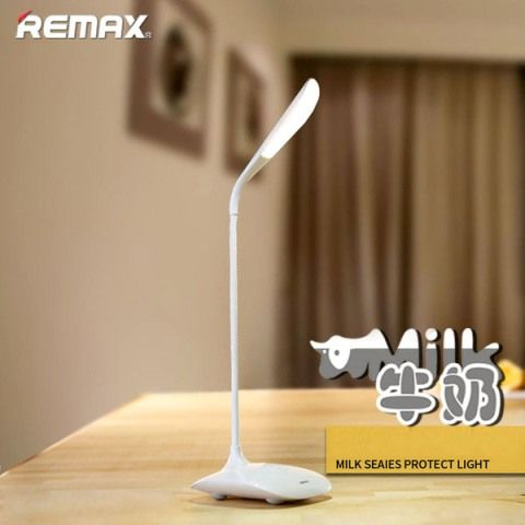 Настольная лампа Remax Milk Series LED Eye-Protecting Light, белая