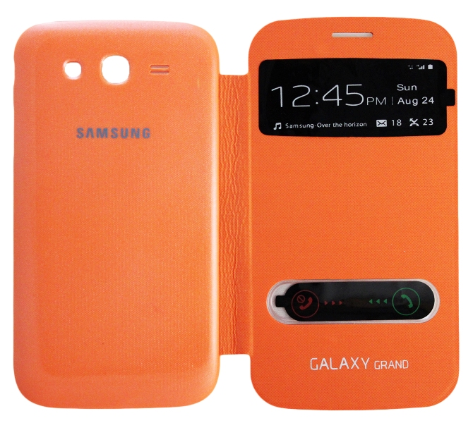 �����-������ S View Cover ��� Samsung Galaxy GRAND DUOS (GT-i9082)