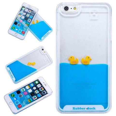 ����� - �������� Casefit Rubber Duck ��� iPhone 6/6s , �����