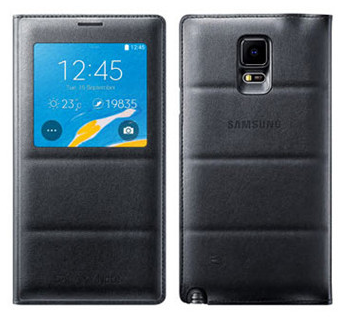 �����-������ S view cover ��� Samsung Galaxy Note 4