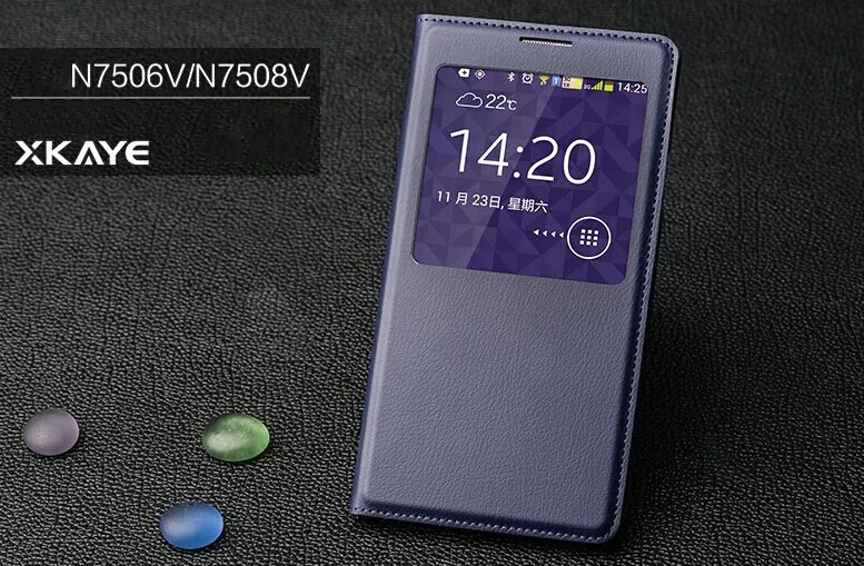 �����-������ S View Cover ��� Samsung Galaxy NOTE 3 Neo (N7505/N7506V/N7508V) �����
