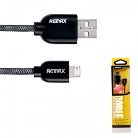 ����-������ REMAX Cable quick charge&data ��� iPhone, iPad (������)