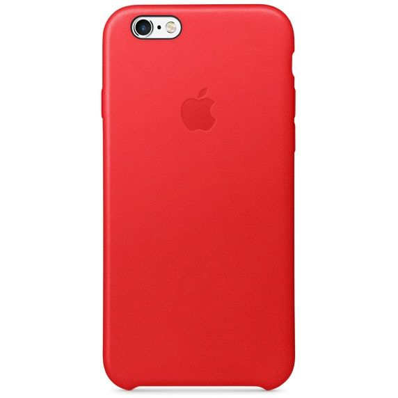 ����� ��� iPhone 6/6S, Careo Leather Case Red, �������