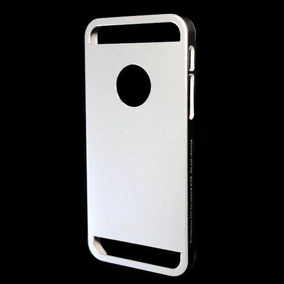 Чехол iPhone 5/5S (Protective Shell) Серебро