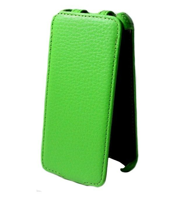 Чехол - книжка Mobile Case (iPhone 5/5S) Салатовый