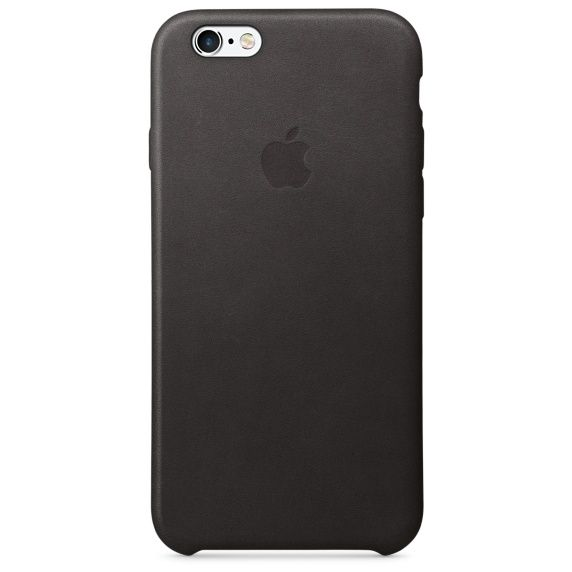 Чехол для iPhone 6/6S, Careo Leather Case Black, черный