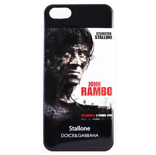 Чехол Dolce&Gabbana для iPhone 5/5S Sylvester Stallone купить