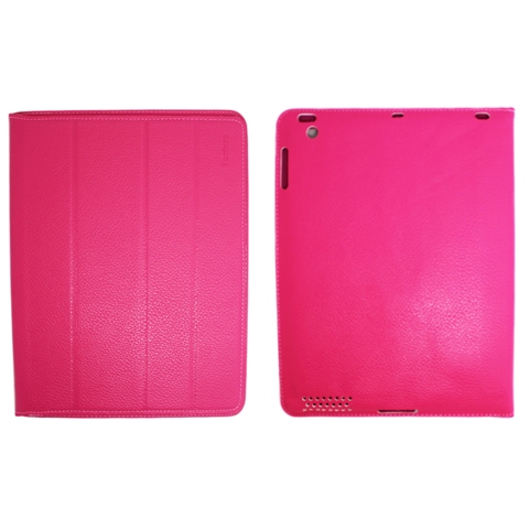 Чехол - книжка для iPad 2/3/4  Yoobao iSmart Leather Case, розовый купить