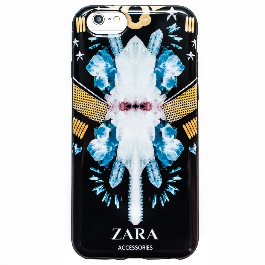 Чехол для iPhone 6/6S ZARA accessories, кристаллы