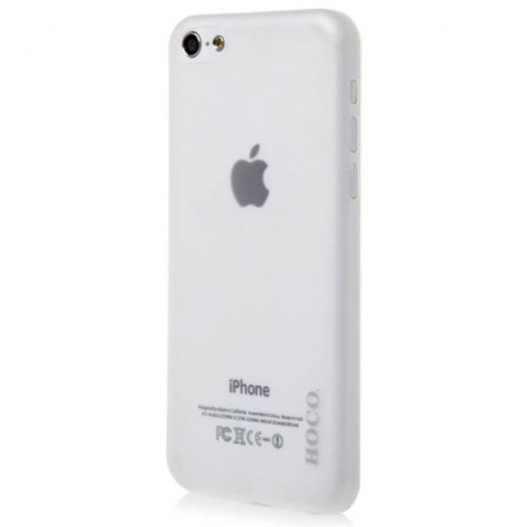 Чехол для iPhone 5C, HOCO Thin Series White, Белый