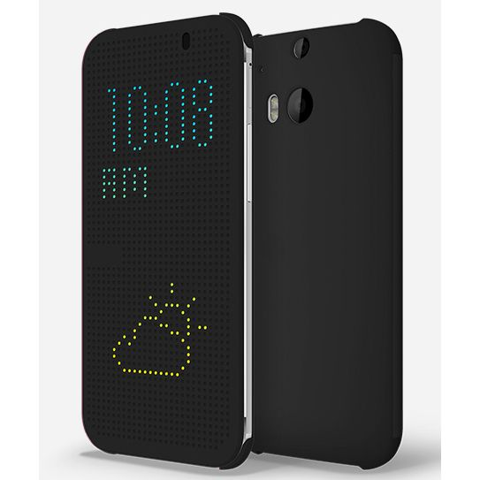 Чехол-книжка для HTC One M8 DOT VIEW FLIP CASE