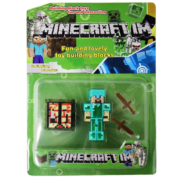 Набор Майнкрафт, Minecraft Building Block - Diamond Steve