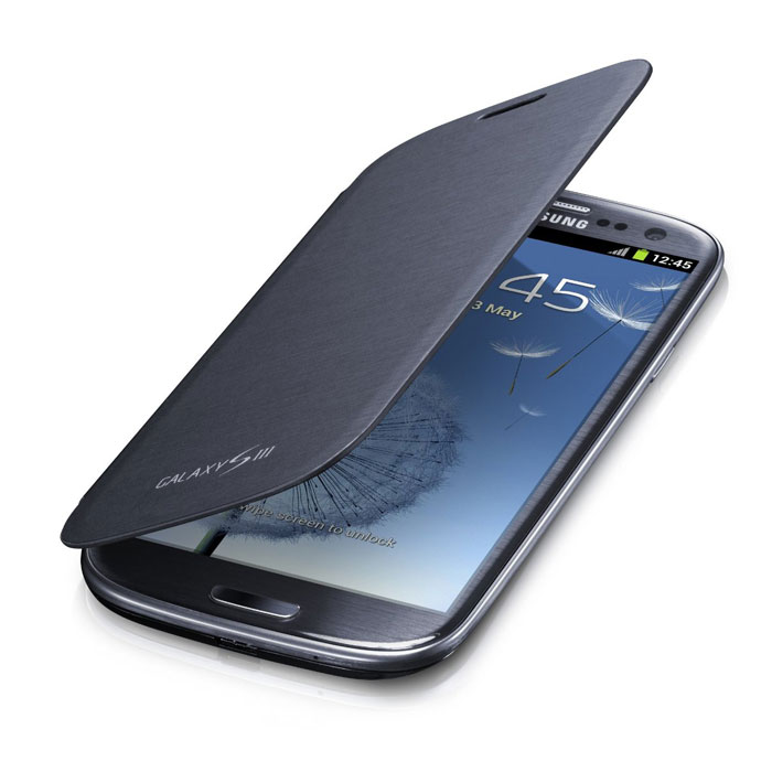 Чехол для Samsung Galaxy S3 Flip Cover, Синий купить
