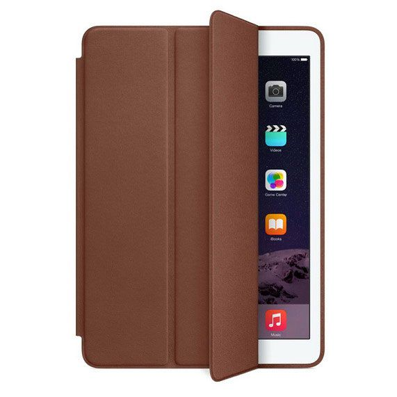 Чехол-книжка для iPad 2017, Careo Smart Case, коричневый