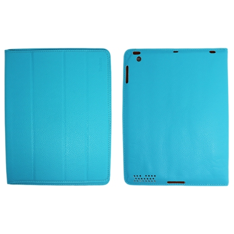 Чехол - книжка для iPad 2/3/4  Yoobao iSmart Leather Case, голубой купить