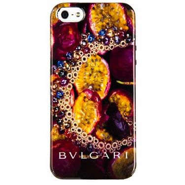 Чехол для iPhone 5/5S BVLGARI Italy, папайя