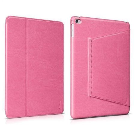 Чехол-книжка HOCO Leather Case для Apple iPad Air 2, малиновый