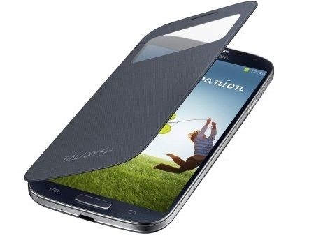 Чехол-книжка S View Cover для Samsung Galaxy S4 mini, темно-синий