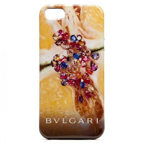 Чехол для iPhone 5/5S BVLGARI Italy, цитрус купить
