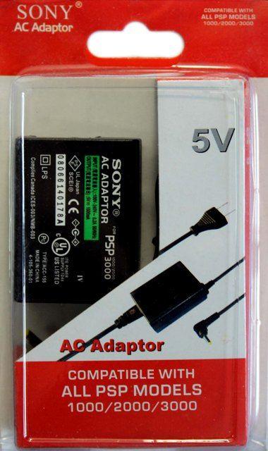 Универсальное зарядное устройство для Sony PSP