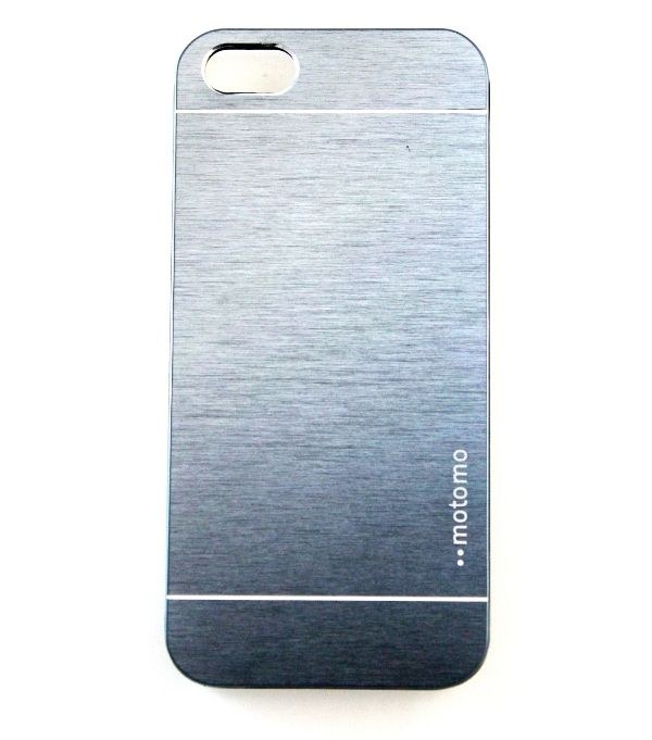 Чехол iPhone 5/5S (Motomo INO METAL ALL) Серый