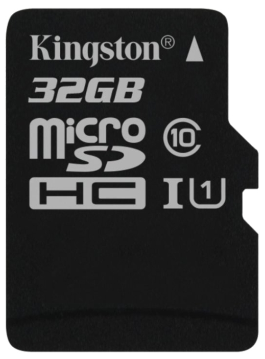 MicroSD 32GB  Kingston Class 10 UHS-I 45 MB/s без адаптера