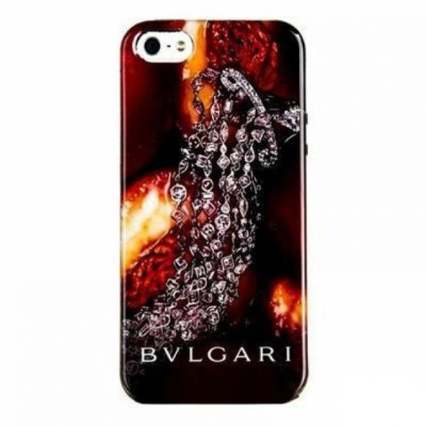 Чехол для iPhone 5/5S BVLGARI Italy, сливы