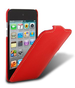 Чехол Melkco для iPod Touch 4th Leather Case Jacka Type (Красный)