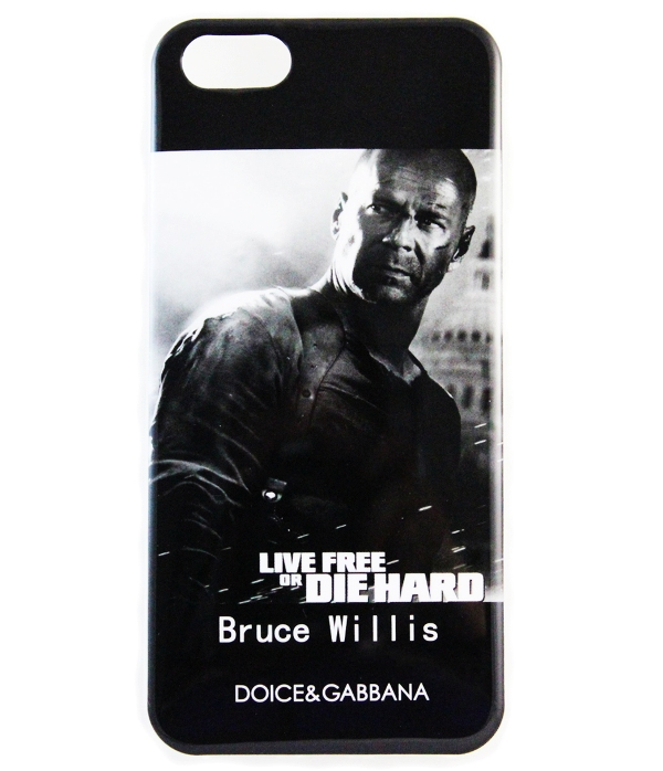Чехол Dolce&Gabbana для iPhone 5/5S Bruce Willis купить