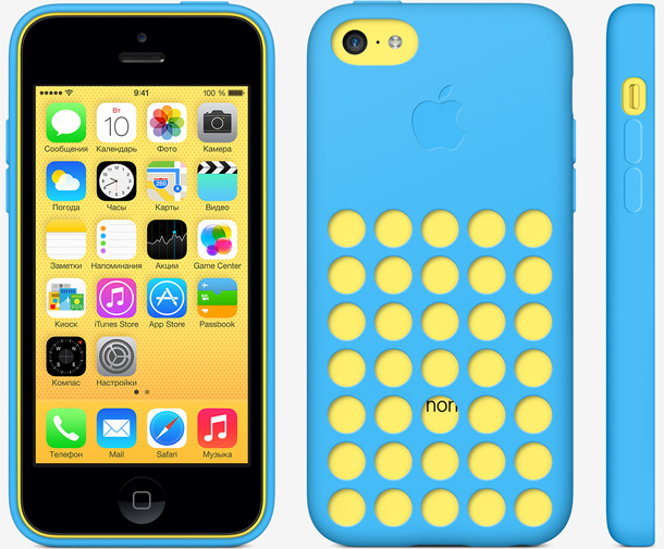 Чехол iPhone 5C Case