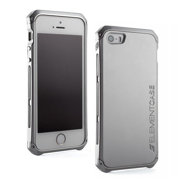 Чехол для iPhone 5/5S Element Case Solace серебристый