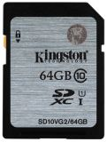 SDXC 64GB  Kingston Class 10 UHS-I 45MB/s