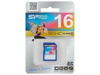 Silicon Power SDHC Card 16GB Class 10