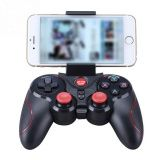 Беспроводной джойстик Bluetooth Gamepad New S3 для iPhone, Android, iPad, Smart box, SmartTV, черный