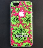 Чехол Denis Simachev для Apple iPhone 5/5S Flowers Вид 2
